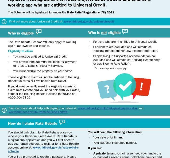Rate Rebate Factsheet
